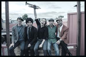 The California Honeydrops bring the party, and the swingin' tunes, to SOhO this week. Stuart Levine