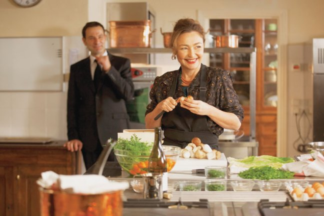 """Catherine Frot stars as Hortense Laborie who has been requested to cook for the President in """"Haute Cuisine Anouchka de Williencourt photo"""
