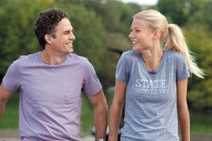 "Mark Ruffalo and Gwyneth Paltrow star in ""Thanks for Sharing."" Anne Joyce photo"