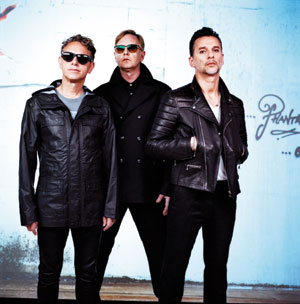 Depeche Mode recorded four oftheir albums in Santa Barbara. Anton Corbijn photo