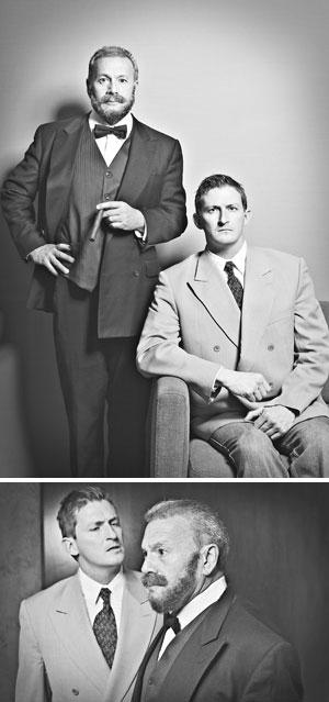 Ed Giron, left, and Justin Stark Mr. Stark, left, and Mr. Giron Matt Ehnes photos