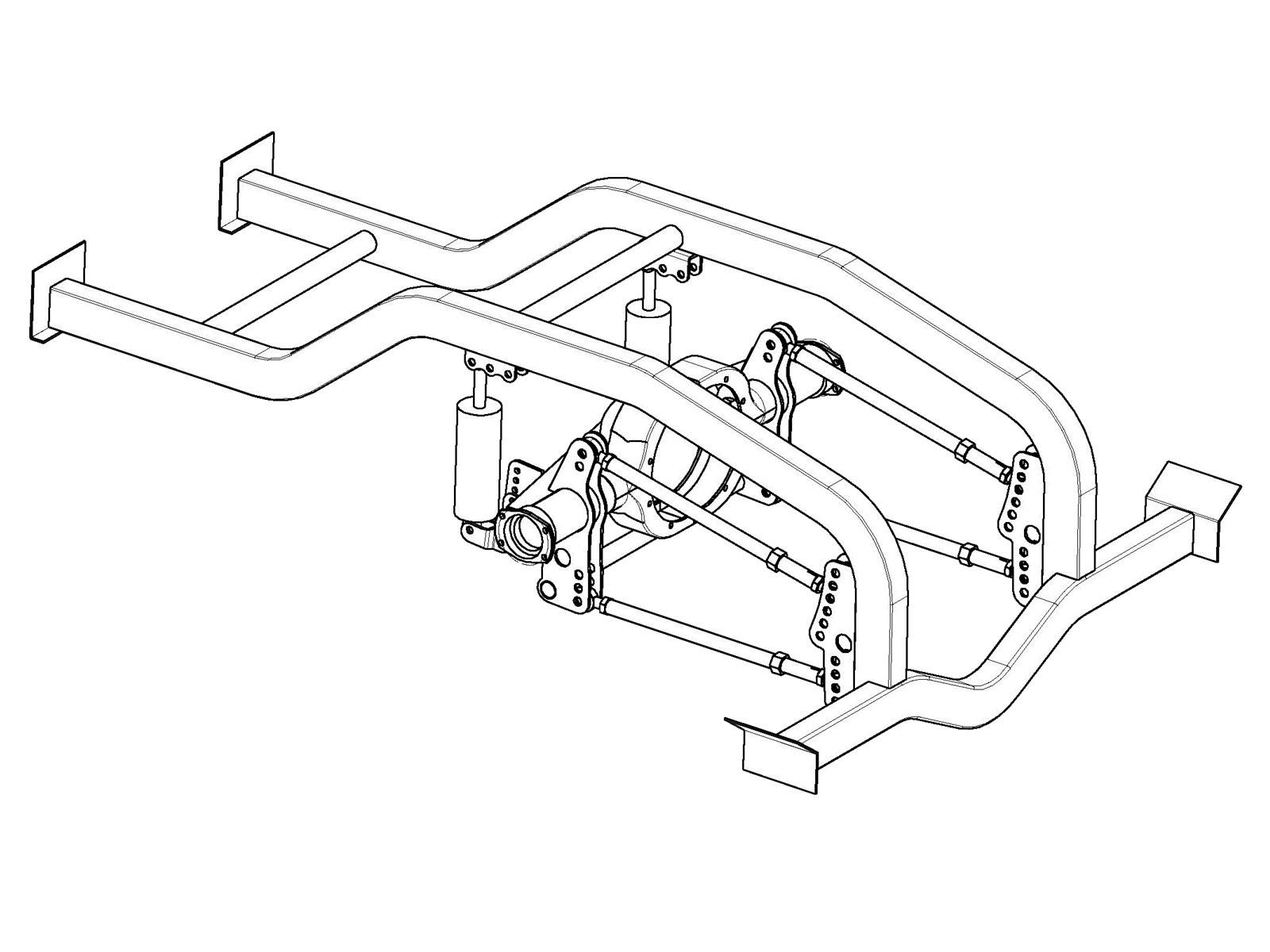 1 25 Scale Independent Front Suspension