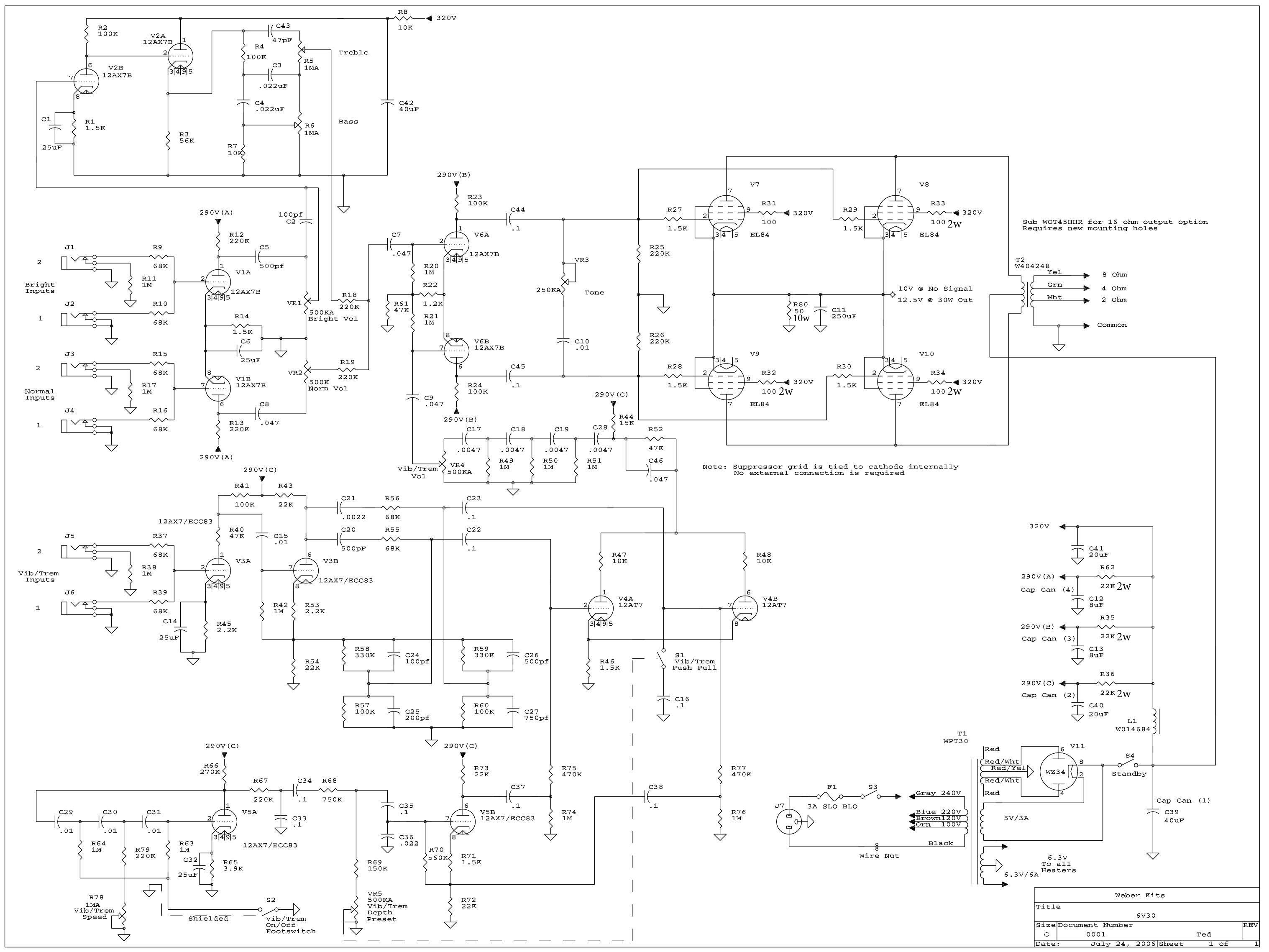 6v30 kit 6v30 schem 6v30 kit weber ksg 470 wiring diagrams at crackthecode co