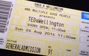 tedxwellington tickets