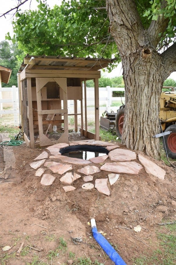 Diy Attractive Easy Drain Duck Pond Provides Ducks With