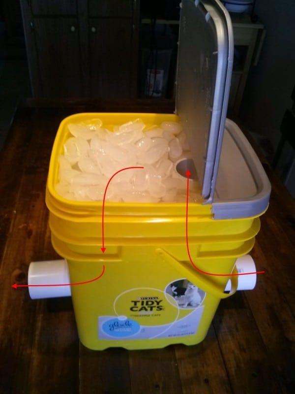 Cheap Easy DIY Professional Fog Chiller! - TeeDiddlyDee