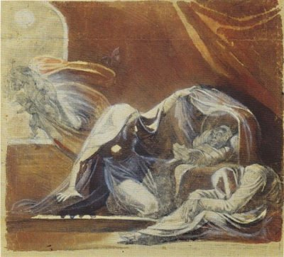 "Henry Fuseli, ""The Changeling"" [Public domain], via Wikimedia Commons"