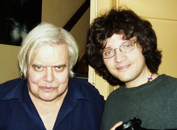 Jason with H R Giger