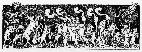 Schwind_Begraebnis-The_Hunter's_Funeral_Procession-1850