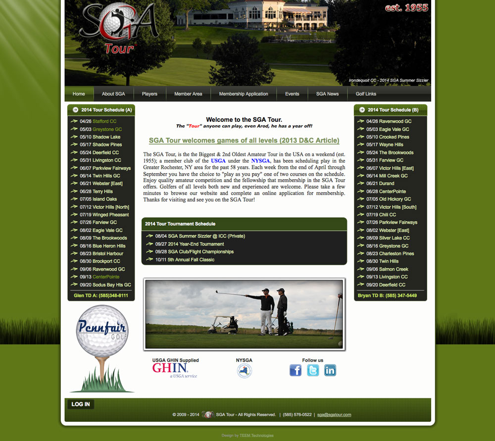 sga-tour-website-home