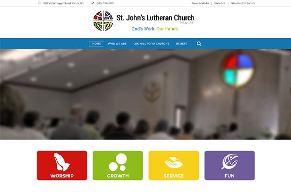 St. John's Lutheran Church – Victor, NY