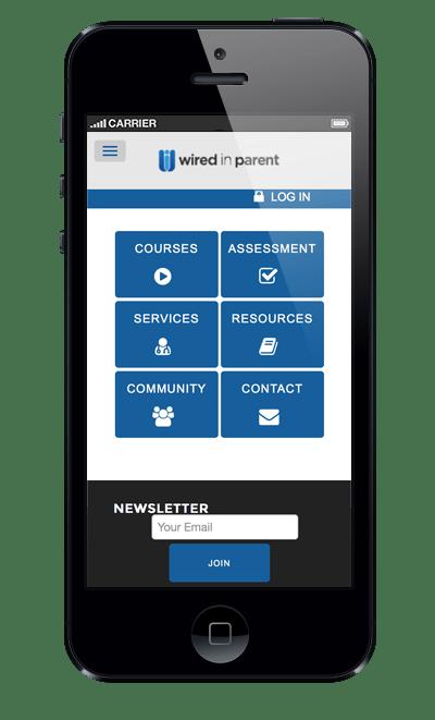 wiredinparent-website-phone