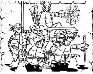 Original TMNT Art