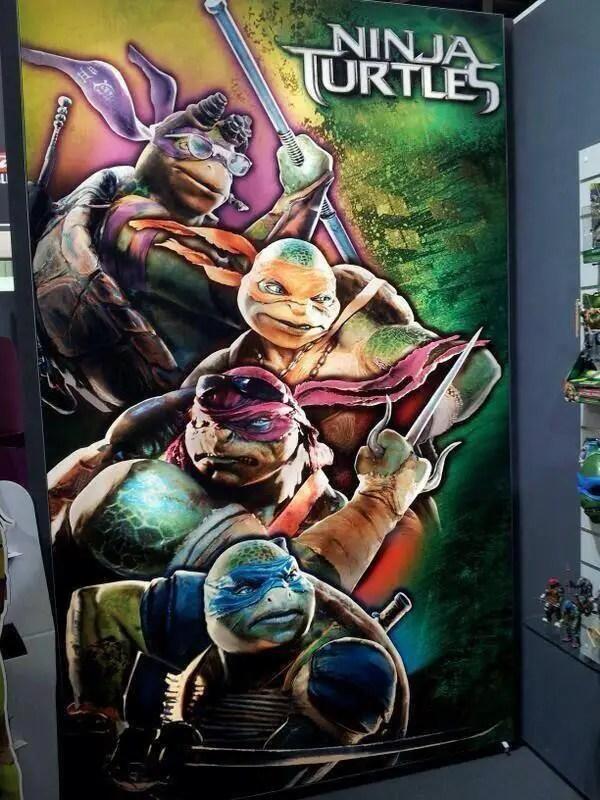 Ninja Turtles 2014 Movie Poster Leaked