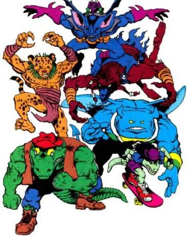 the mighty mutanimals