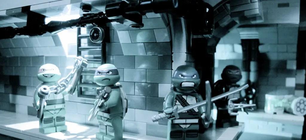 TMNT Lego Stop Motion 2