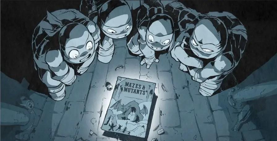 Ninja Turtles Mazes and Mutants 2