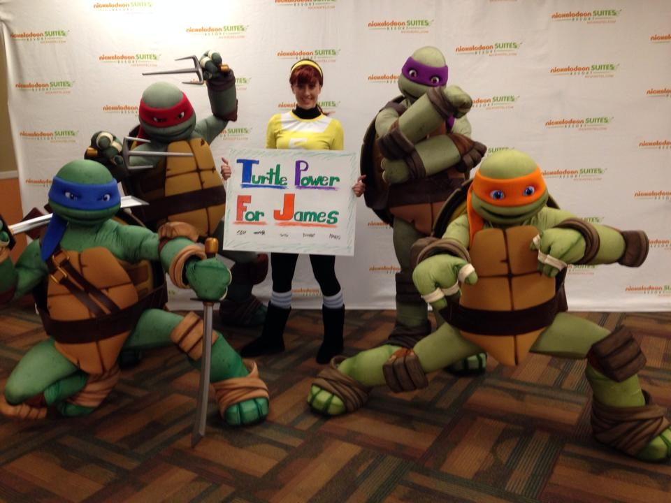 Show Support For TMNT Fan in Critical Condition