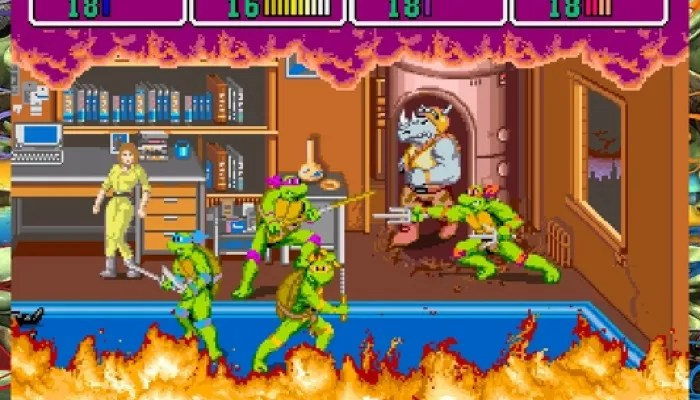 Totally Turtle Games Teenage Mutant Ninja Turtles Arcade