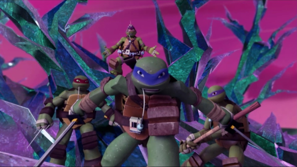 Into Dimension X TMNT Nickelodeon