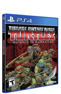 Box Art for Teenage Mutant Ninja Turtles: Mutants in Manhattan