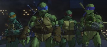 Image from Teenage Mutant Ninja Turtles: Mutants in Manhattan. Source: Platinum Games, Activision