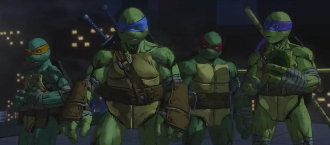 Image from Teenage Mutant Ninja Turtles: Mutants in Manhattan. Source: Platinum Games, Activision