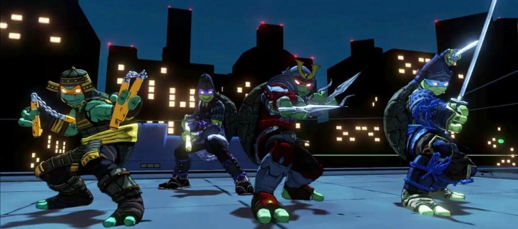 Mutants in Manhattan DLC featuring the TMNT dressed as Samurai warriors