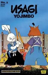 Issue 2 of Usagi Yojimbo, available now on Comixology Unlimited. Source: Fatnagraphics Books