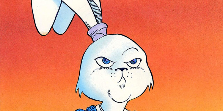 Taken from the cover of the original first issue and volume of Usagi Yojimbo, available now on Comixology Unlimited. Source: Fantagraphics Books