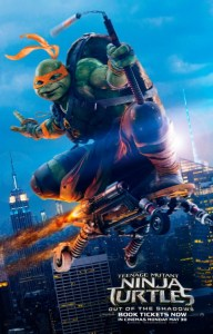 A poster for Teenage Mutant Ninja Turtles: Out of the Shadows. Image Source: Paramount Pictures.