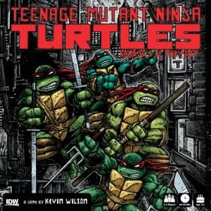 Box Art for Teenage Mutant Ninja Turtles: Shadows of the Past Board Game. Image Source: IDW.