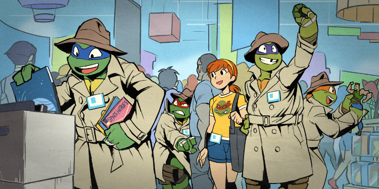 Artwork for last year's NYCC; The gang from Nickelodeon's TMNT is returning to NYCC 2016 for another awesome panel! Source: Nickelodeon.