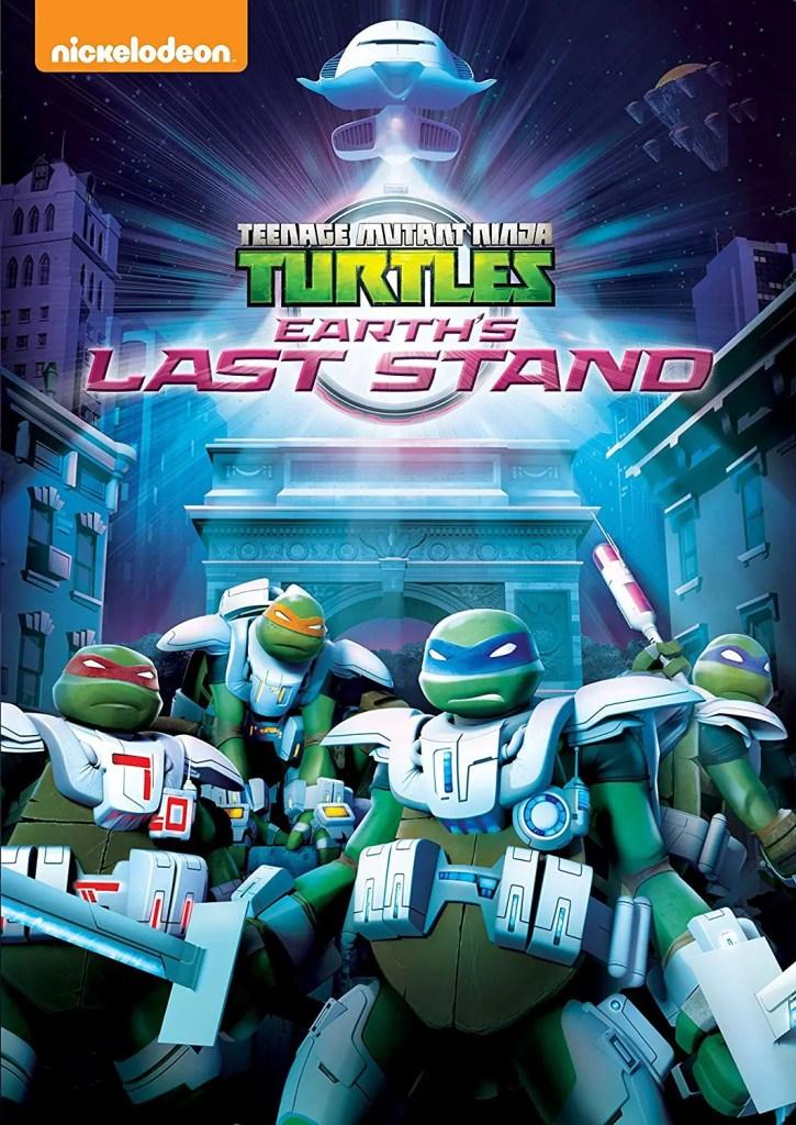Teenage Mutant Ninja Turtles: Earth's Last Stand DVD. Image Source:  Nickelodeon.