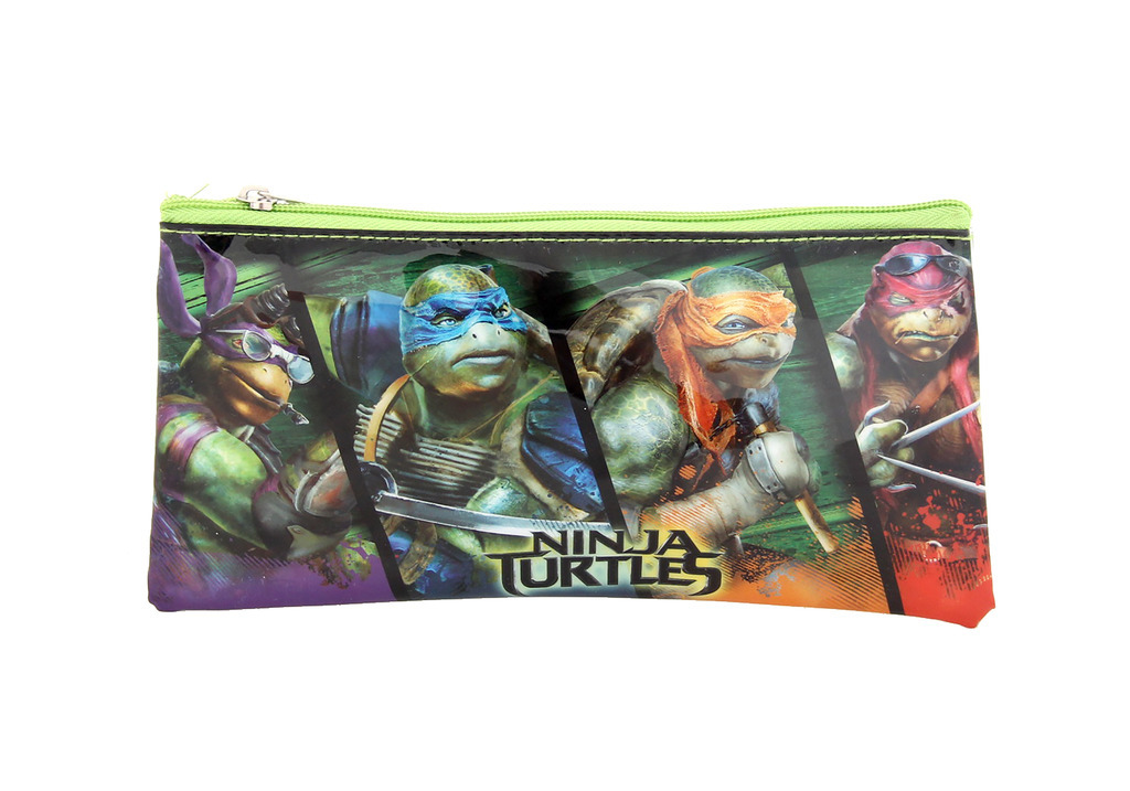 nickelodeon ninja turtles pencil case