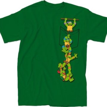 Ninja Turtles Pocket Green T-Shirt