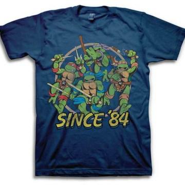 Ninja Turtles Since 84 Navy T-Shirt