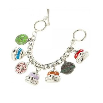Ninja Turtles Bracelet with Charms