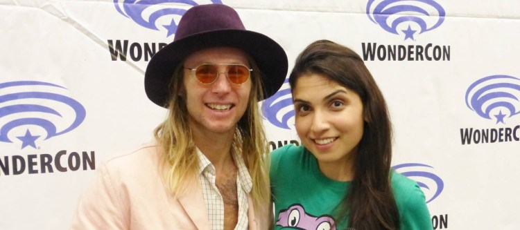 Machelle Noel asked Greg Cipes some very awesome questions during this interview at WonderCon 2017. Image Source: GeekRockTV, WonderCon.