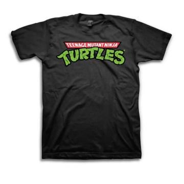 TMNT Original Logo Black T-shirt