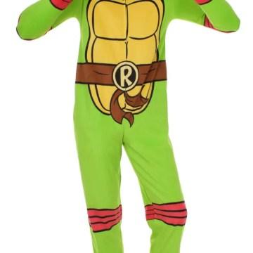 Ninja Turtles Raphael One Piece Costume Pajama