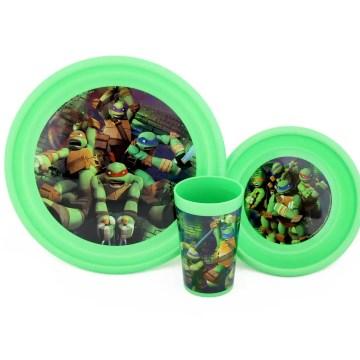 Nickelodeon Ninja Turtles 3 Piece Meal Set