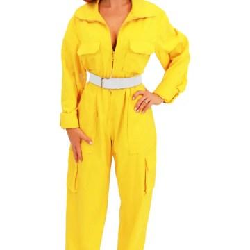 April O'Neil Yellow Jumpsuit