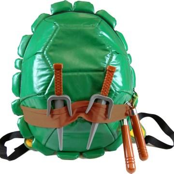 Ninja Turtles  Shell Backpack w/ weapons