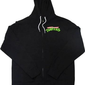 Ninja Turtles Classic Group Black Hoodie