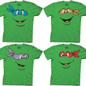 920604cd $24.95 Buy product · Ninja Turtles Character Faces Adult T-shirt