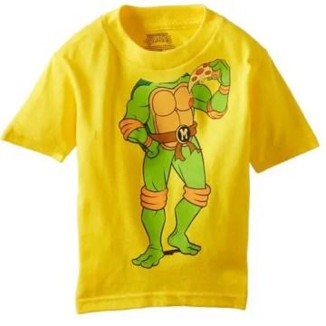 Classic Michelangelo Headless Yellow T-Shirt