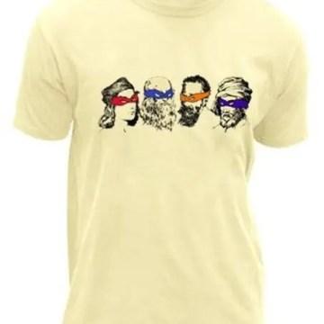 Ninja Turtles Rennaissance Artists T-Shirt