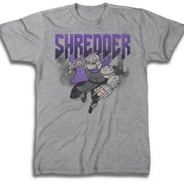 TMNT Classic Shredder Gray T-Shirt