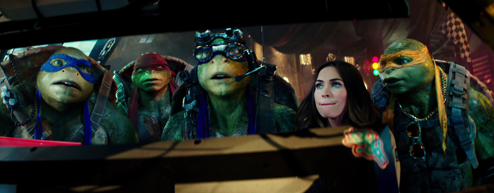 Even though he liked the second film, something tells me that the next TMNT movie isn't going to look like this. Image Source: Paramount, Nickelodeon.
